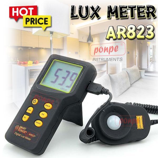 AR823 SMART SENSOR เครื่องวัดแสง