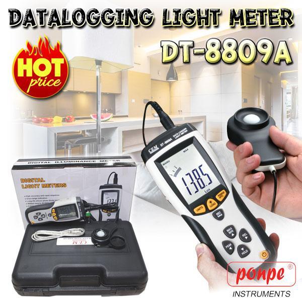 เครื่องวัดแสง DT-8809A