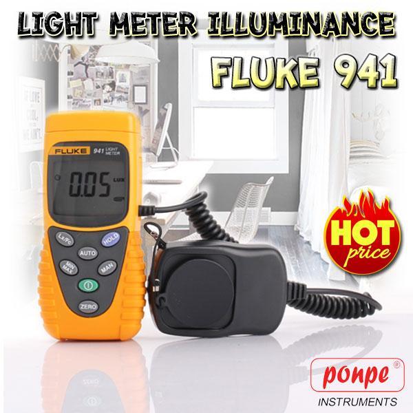 Fluke 941 เครื่องวัดแสง Light Meter