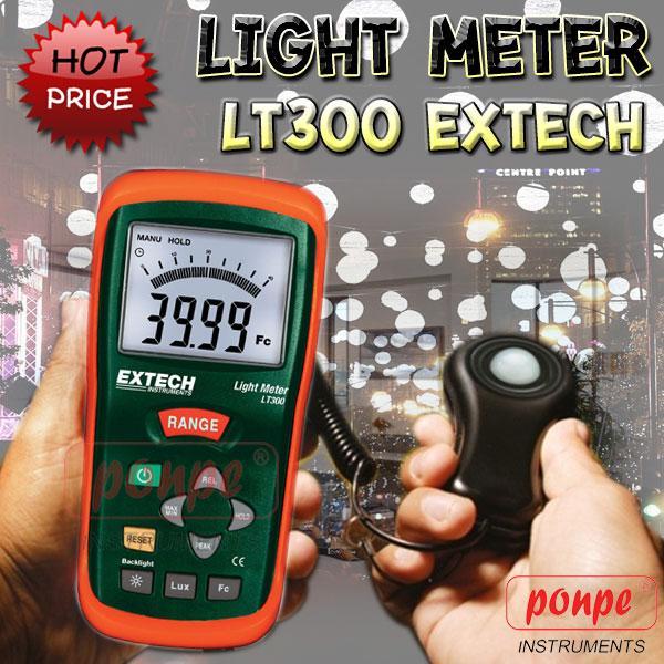 LT300 LIGHT LUX METER เครื่องวัดแสง