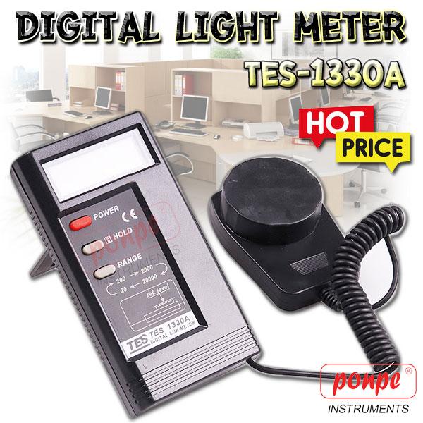 TES-1330A เครื่องวัดแสง LIGHT METER