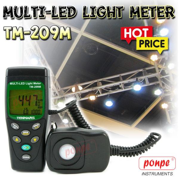TM-209M TENMARS เครื่องวัดความเข้มแสง